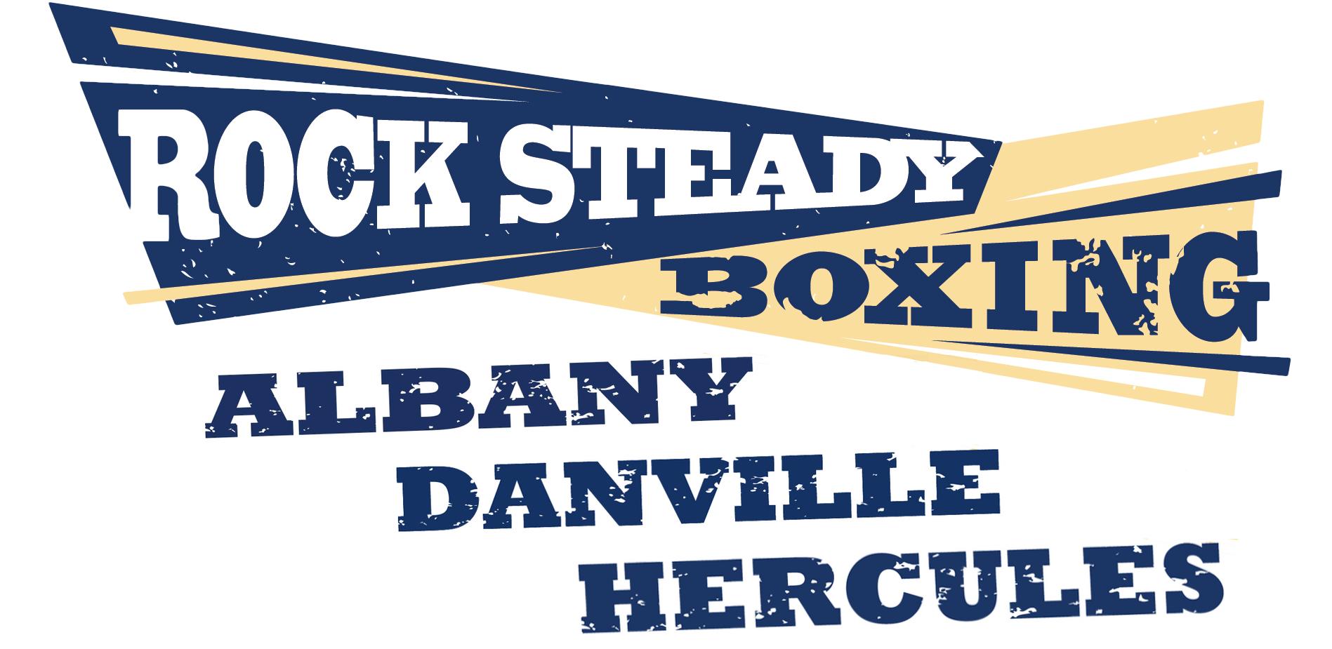 Rock Steady Boxing Albany Danville Hercules logo